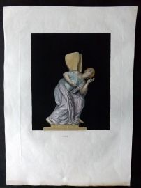 Le Musee Royal 1818 LG Folio HCol Statue Sculpture Print 16 Psyche